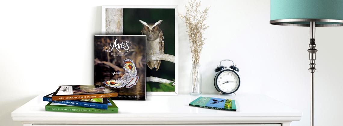Livros de aves brasileiras com imagens em alta resolução, comece sua coleção hoje.