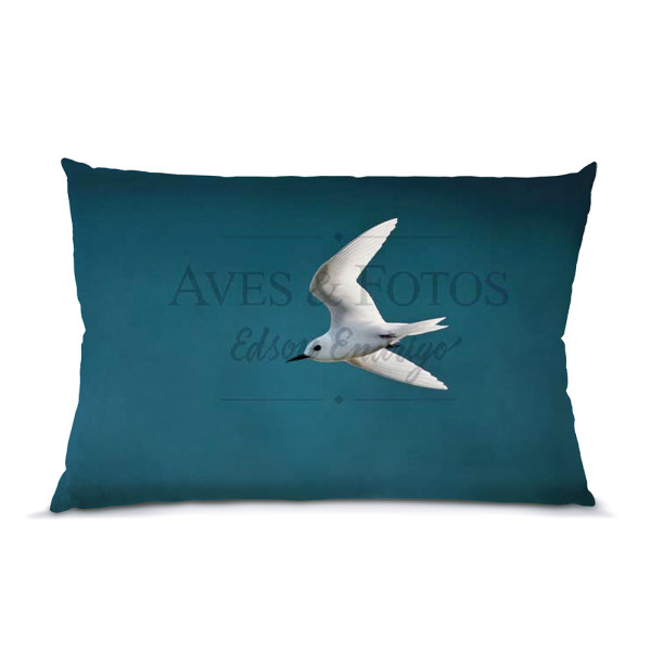 Grazina almofada 45x30cm Aves e Fotos Editora por Edson Endrigo