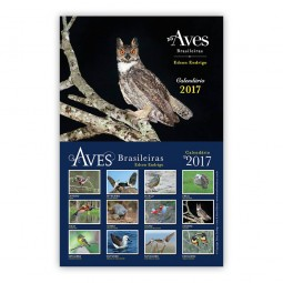 Calendário Aves Brasileiras 2017