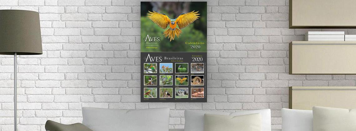 Calendário Aves Brasileiras 2020