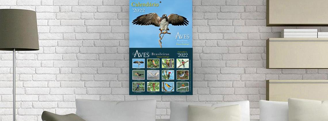 Calendário Aves Brasileiras 2022